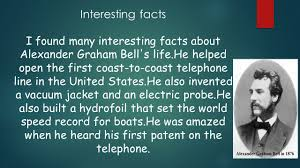 facts about alexander graham bell s telephone alexander graham bell by dominic gonzalez the bell family alexander