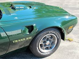 1973 trans am 455 super duty colin u0027s classic auto