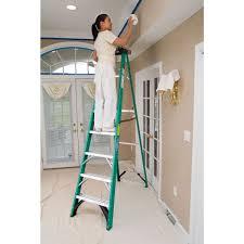 fs204 4 ft type ii fiberglass single sided step ladder