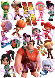123 wreck ralph party images birthday party
