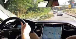 All Dashboard Lights Come On While Driving Tesla Autopilot Fail Videos Shows What Happens When Autonomous