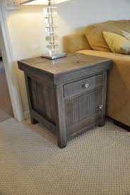 Rustic End Tables Rustic End Tables Rustic Slate Gray