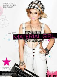 kelly osbourne is the new material face of madonna and