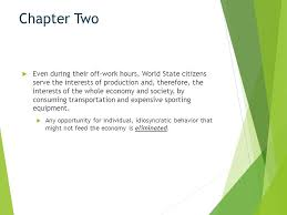 brave new world chapters 2 4 analysis ppt