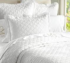 Pottery Barn Down Comforter Belgian Flax Linen Diamond Quilt U0026 Pillowcases Pottery Barn Au