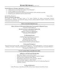 Resume For Property Management Job Entry Level Property Management Resume Property Manager