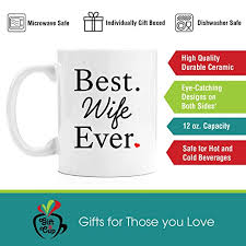 wife gift ideas best wife ever premium 11oz coffee mug set wife gifts birthday