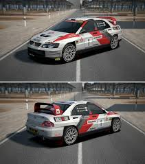 lancer evo 2014 mitsubishi lancer evolution super rally car u002703 by gt6 garage on