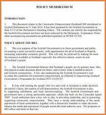 sample policy memo sample executive memo 5 executive memo