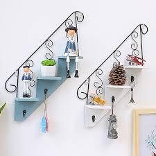 Home Decoration Online Shop Online Shop 3 Tier Shelf Home Decoration Decorative Stairs Shape