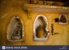 Home Temple Decoration by Traditional Village Home Wall Decoration Jodhpur Rajasthan