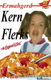 Corn Flakes Meme - kern flerks humor hilarious and stuffing