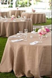 Burlap Tablecloth Wedding Tablecloth Rustic Burlap Event Jute