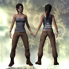 Lara Croft Halloween Costume Complete Reference Pictures Tomb Raider 2013 Costume