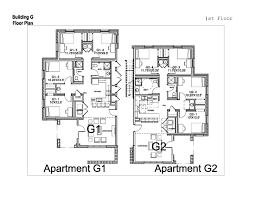 residential plan village apartments washington and lee university