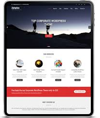 best corporate wordpress themes to add style to your business website