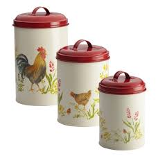 Rooster Kitchen Canisters 8 Chicken Themed Kitchen Products For A Poultry Paradise