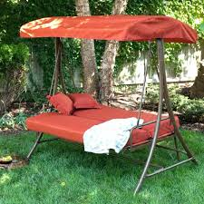 outdoor swing chair with canopy swinging bench canopy great 3 seat