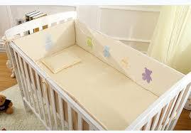 Baby Cot Bedding Sets Cotton Baby Cot Bedding Set 6pcs Newborn Crib Bedding