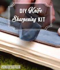 diy knife sharpening kit