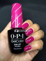 opi nail polish popular red pink purple colours