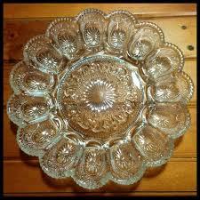 glass deviled egg platter 121 best devilled egg platters images on boiled eggs