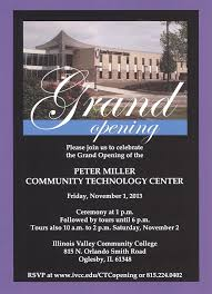 Invitation Card For Grand Opening Ivcc U003e Nov 1 Ctc Grand Opening Invite