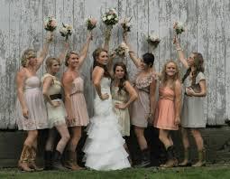 100 western bridesmaid dresses 25 cowgirl wedding ideas