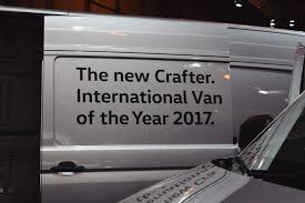 volkswagen crafter dimensions the new volkswagen crafter at the cv show stable vehicle contracts