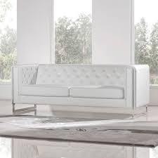 Diamond Sofa CHELSEASLWH Chelsea Sofa  Loveseat  Piece Set In - Chelsea leather sofa 2