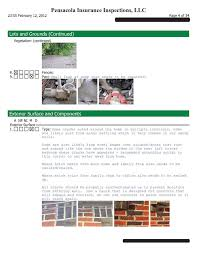 sample house inspection report home inspection report page 4 home inspection wind mitigation