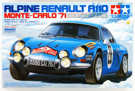 alpine a110 for sale tamiya 24278 alpine renault a110 monte carlo u002771 1 24 scale kit