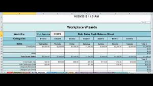 Daily Sales Report Template Excel Free Daily Sales And Food Inventory