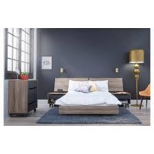 5 alibi size bedroom set nexera target