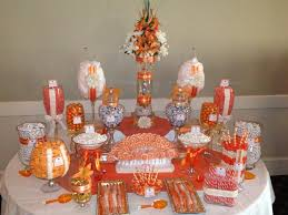 Candy Buffet Wedding Ideas by 42 Best Orange Candy Buffet Images On Pinterest Orange Candy