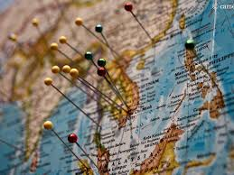 World Map With Pins by Download Travel Map With Pins Major Tourist Attractions Maps