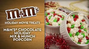 m u0026m u0027s holiday movie treats chocolate holiday mix u0026 munch
