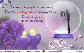 ecards wedding invitation inviting for wedding vertabox