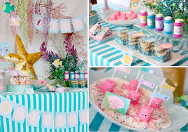 mermaid party supplies kara s party ideas whimsical mermaid girl the sea birthday