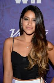 burgundy hair on a latina ombre waves gina rodriguez ombre hair and ombre