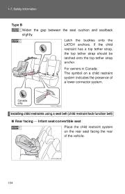 2012 toyota yaris safety information