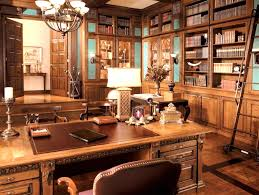 interior rustic office library spectrum design la fancy decor