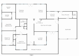 one story house floor plans one story house plans large kitchens inspirational single story open