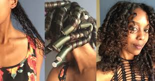 flexi rod stretch long 4b c hair 5 ways to change and enhance your curl pattern
