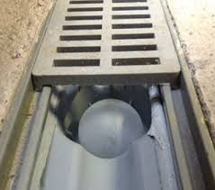 Basement Floor Drain Installation by Trenchlock Trench Drain Inserts By Foundation Support Systems