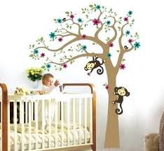 Tree Wall Decor For Nursery Remarkable Nursery Wall Decor Ideas For Boys For Your Pictures