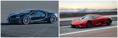 koenigsegg regera vs bugatti chiron проверим статистику самые быстрые на сегодняшний день