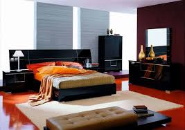 Modern Brown Bedroom Ideas - ravishing brown bedroom wall design with magnificent modern bed