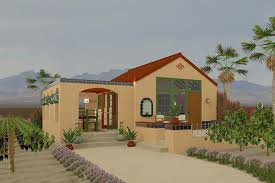 adobe home plans adobe southwestern style house plan 1 beds 1 00 baths 398 sq