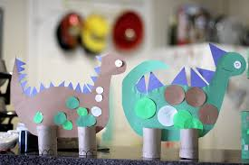 toilet paper roll craft u2013 dinosaurs madpimp com